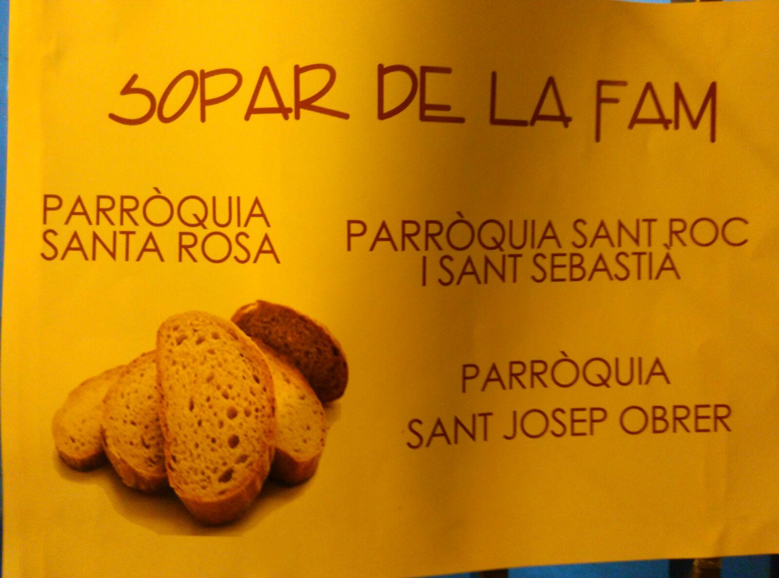 Parroquia Santa Rosa Alcoi Sopar de la fam  4