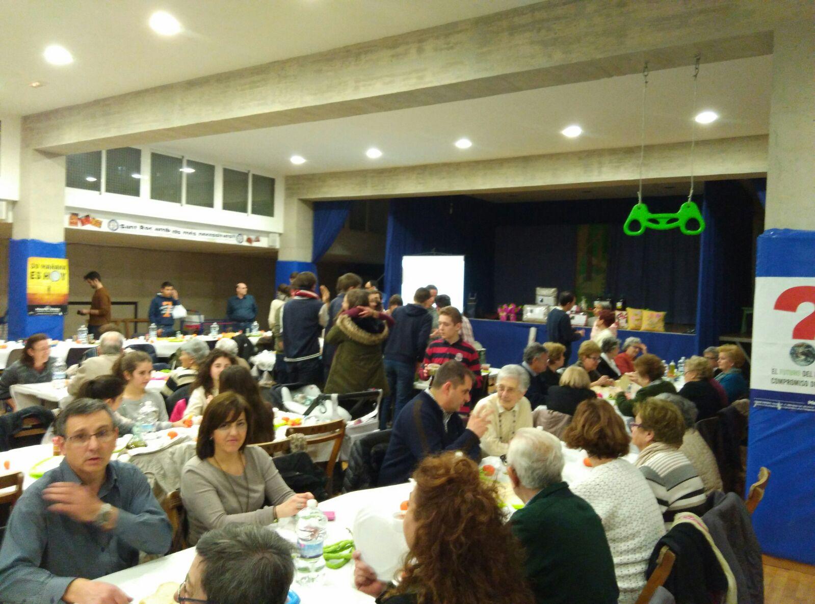 Parroquia Santa Rosa Alcoi Sopar de la fam  5