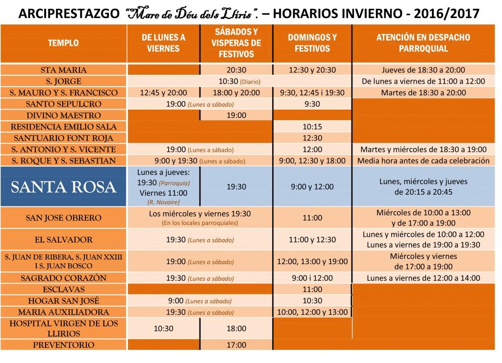 horario-misas-invierno-2016-2017-santa-rosa